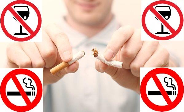 Откажитесь от вредных привычек